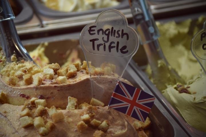 آيس كريم الترفل البريطاني بوظة أمية